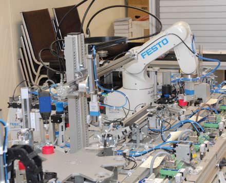 Hệ thống sản xuất linh hoạt MPS cơ điện tử
