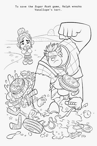 Disney Wreck Ralph Coloring Pages