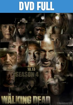 The Walking Dead Temporada 4 DVD Full Subtitulado 2013