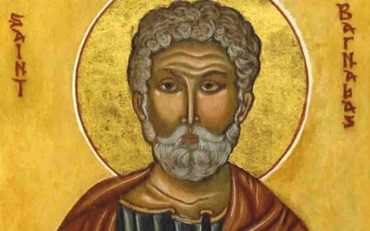 JUNE 11 - ST BARNABAS, APOSTLE