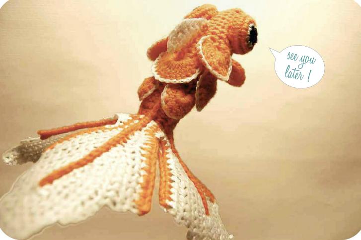 Free Amigurumi Halloween Crochet Patterns : Crochetpedia: Crochet Books Online - Goldfish Amigurumi ...