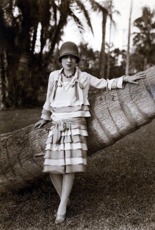 Ruffles Through the Eras ~ 1920s #vintage #1920s #fashion #ruffle #flapper