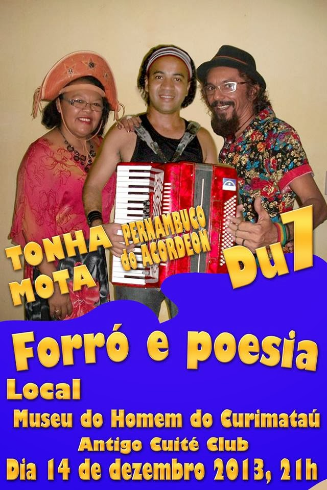 FORRÓ & POESIA - CUITÉ/PB CONTATO P/ SHOWS (84) 9915-7611, INGRESSOS NO LOCAL,VALOR SIMB. 5,00