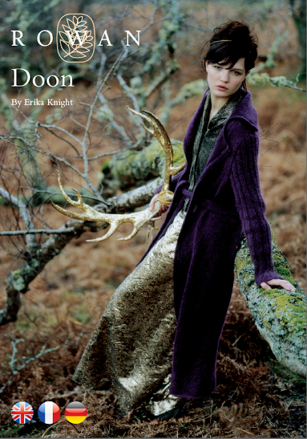 The Vintage Pattern Files Free 1930's Style Knitting Pattern - Doon Long Knitted Coat