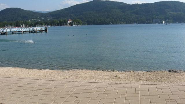 Un bella immagine del Lago Woerther