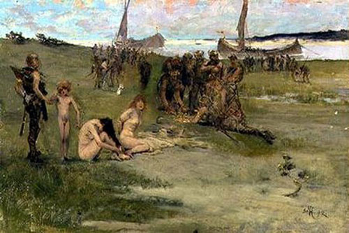 Art History 220: Viking Raids