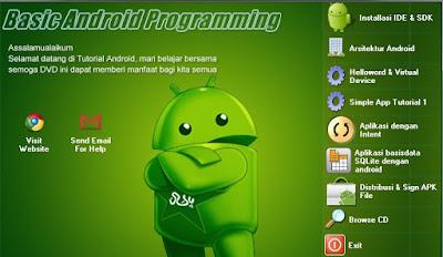 """Panduan Lengkap Ebook Android """"Cara membuat Program Android dari Nol"""""""