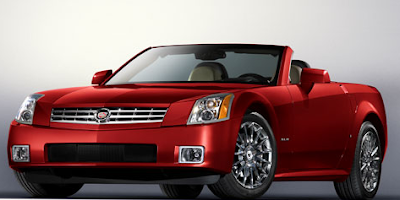 Red Cadillac xlr Car