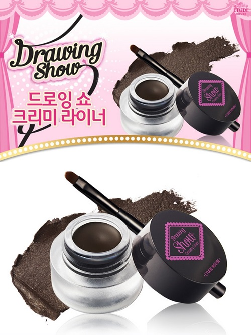 Drawing Show Creamy Liner