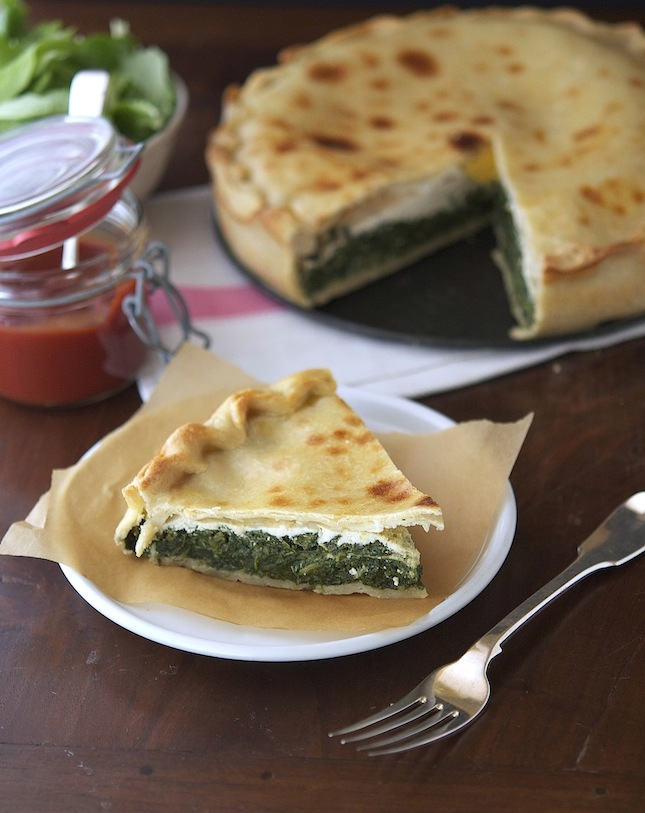 Green Pie With Ricotta