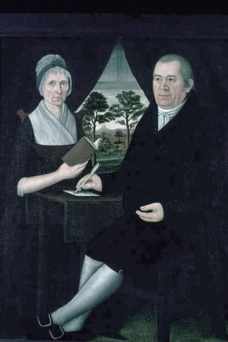 1790s john brewster  american
