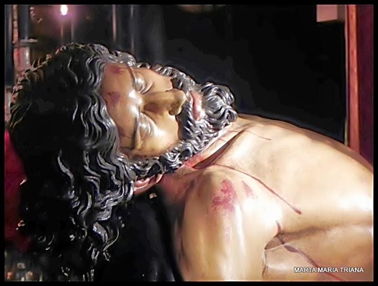 Besapiés El Calvario semana santa Sevilla 2014