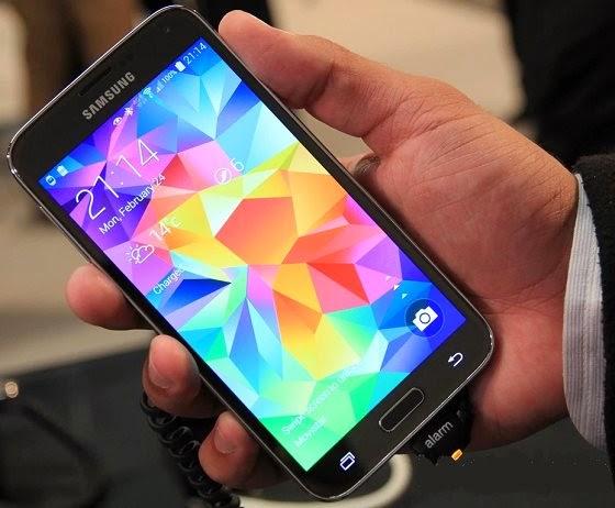 Galaxy S5 é mais leve que o LG G3 devido principalmente ao revestimento de plástico
