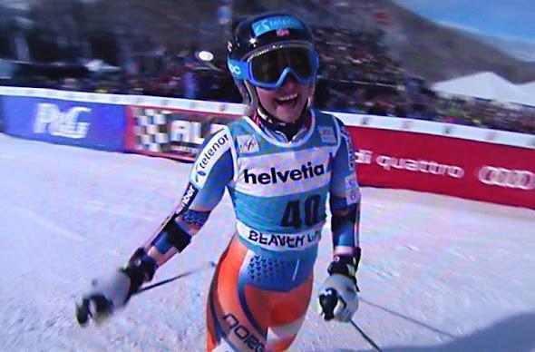 Mowinckel-Ragnhild, lyžovanie v Amerike