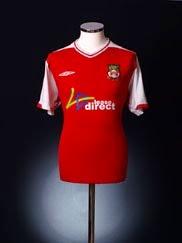 2009-10 Wrexham Home Shirt