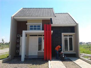 rumah minimalis modern: rumah minimalis type 45 satu