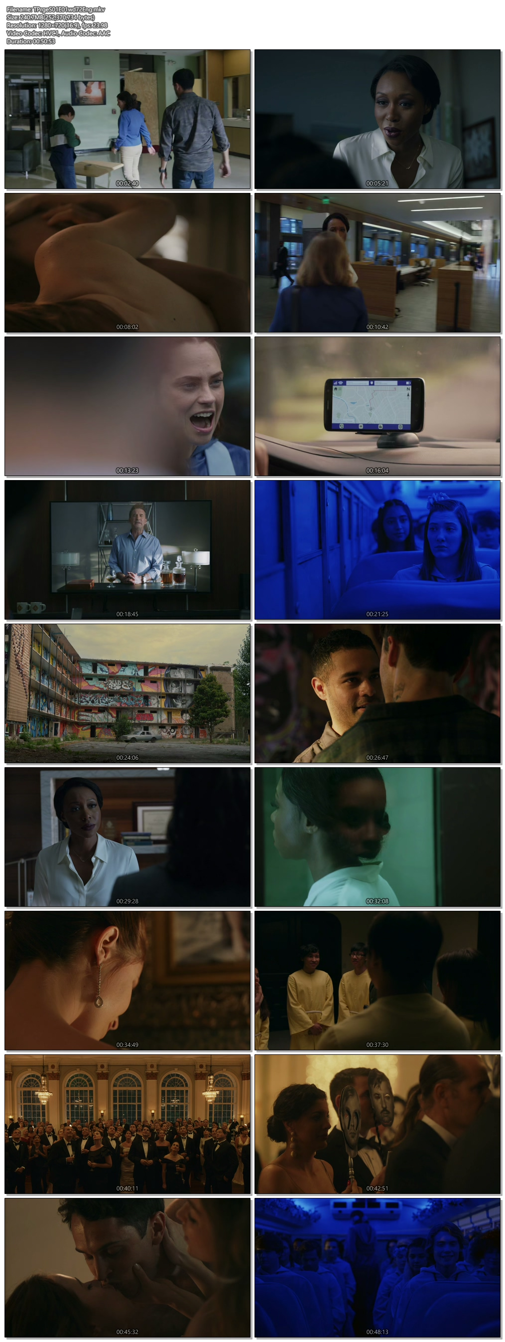 Screenshots Of Hindi Dubbed Show The Purge 2018 Season 01 Complete All Episodes 300MB 720P HD