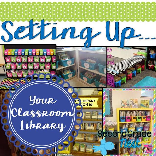 Classroom Setup Ideas For Second Grade ~ Second grade nest setting up classroom library