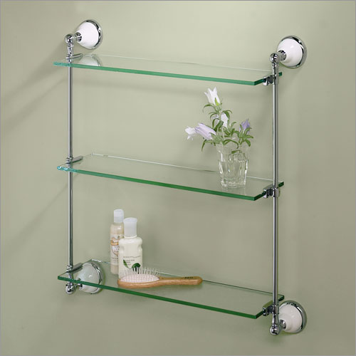 The different types that available in bathroom shelves for Bathroom glass shelves