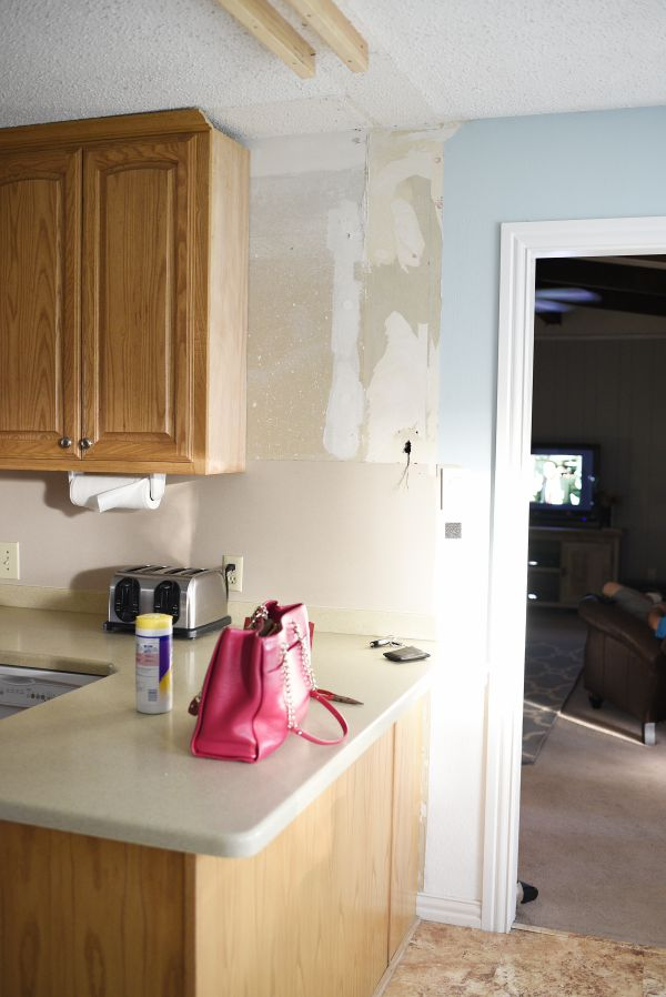 This blogger is attempting a kitchen facelift/renovation for under $1,500 and will DIY most of the work.