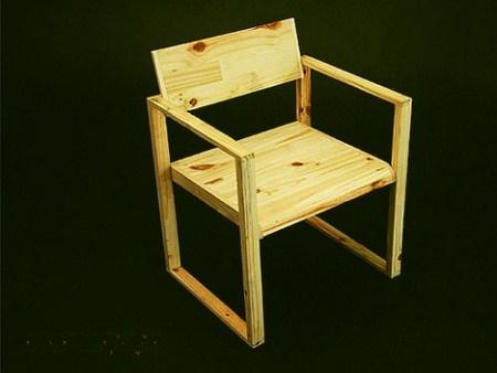 Как сделать легкий стул