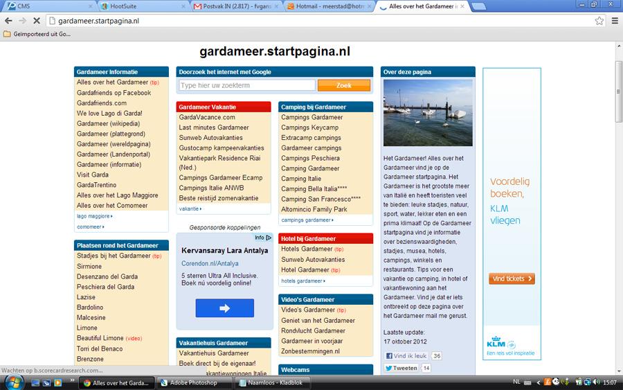 Meer informatie over het Gardameer op Gardameer-Nu.nl .