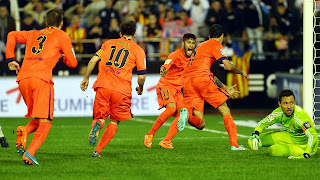 VIDEO Valence 0-1 FC Barcelone