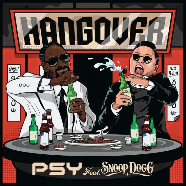 Psy - Hangover cover