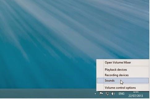 Cara Mengganti Suara Notifikasi Email Baru di Windows 8