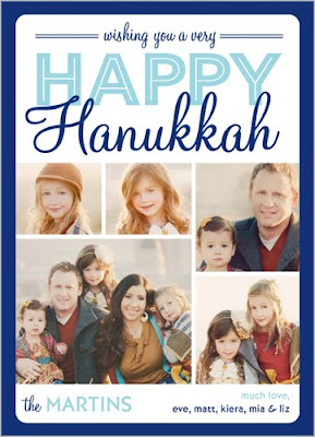 Shutterfly, Photo Christmas Cards, Holiday Card, Hanukkah