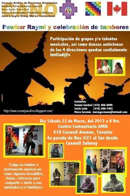 Pawkar Raymi,CANO,