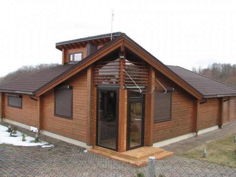 Casas de madera en espa a ventajas casas de madera - Construcciones de casas de madera ...