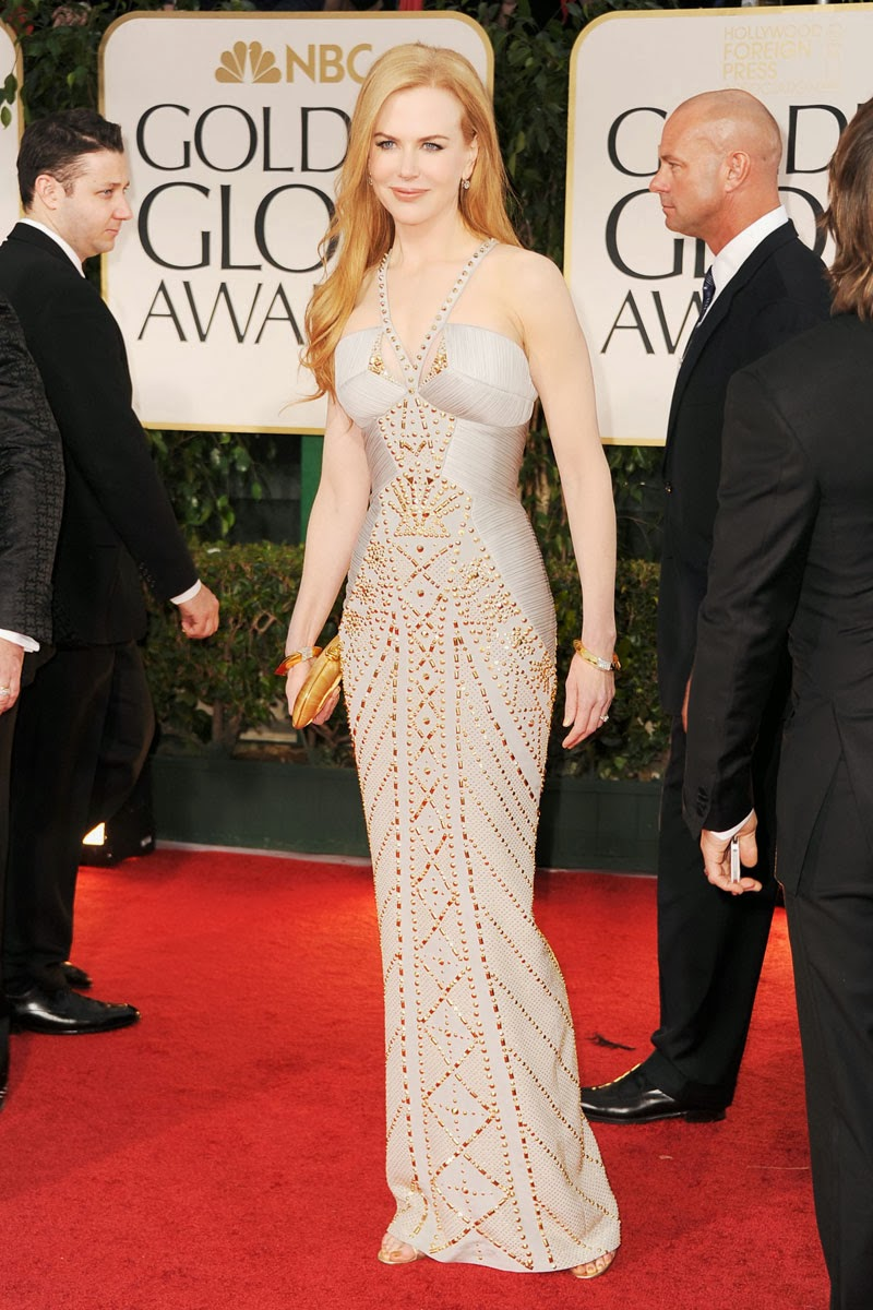 Hermosos vestidos de fiesta de Nicole Kidman