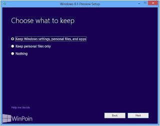 Cara Install Windows 8.1 Preview Menggunakan File ISO