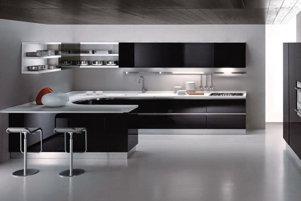 Incredible Elegance and Lovely Black Kitchens