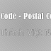 Zip Postal Code Việt Nam - Zip Postal Code 64 tỉnh thành mới nhất từ 2014