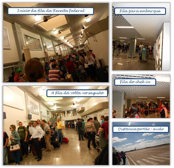 Fila no Aeroporto de Foz do Iguaçu - A História da Gaby
