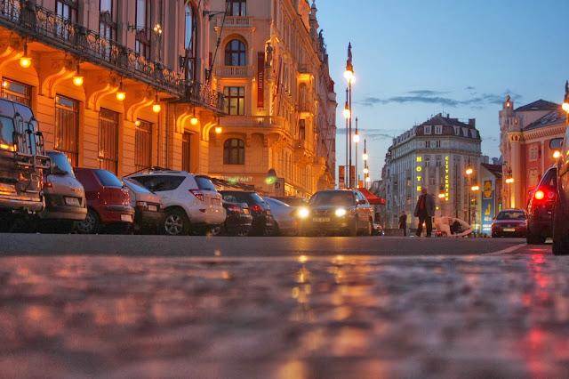 Вечерняя Прага, Чехия. Prague, Czech republic