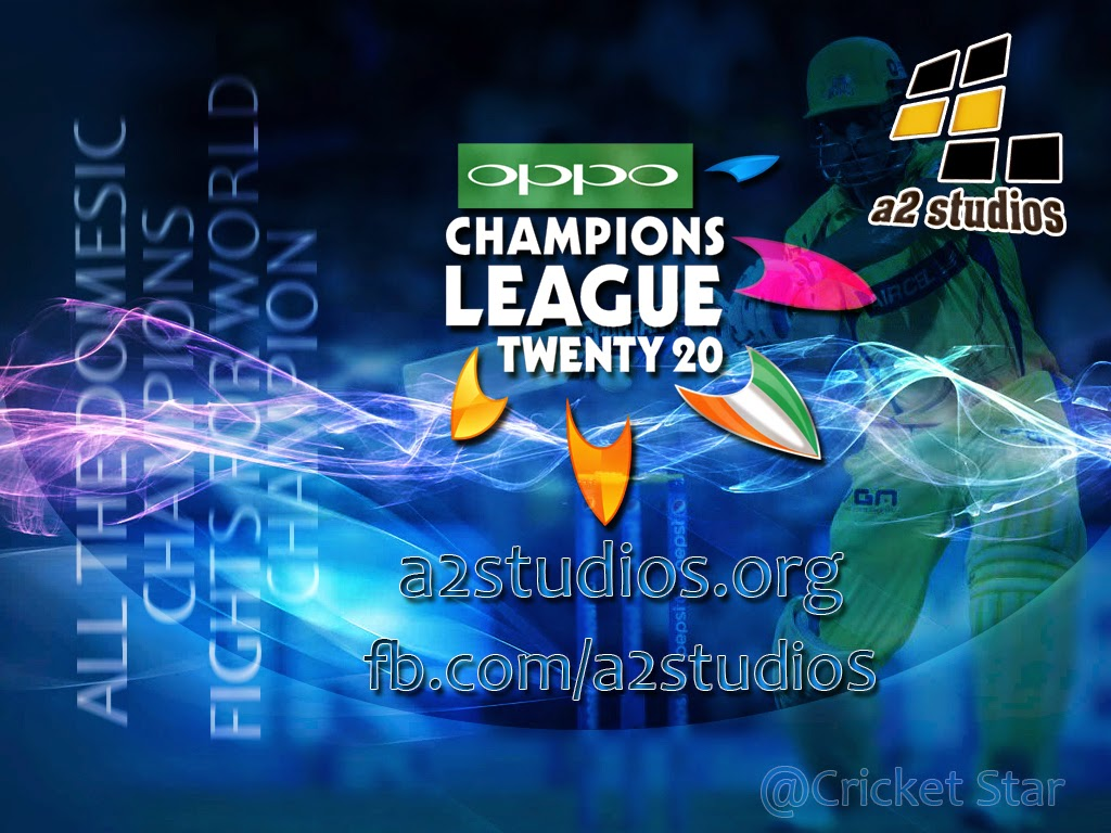 Oppo champion League t20 cup 2014 patch