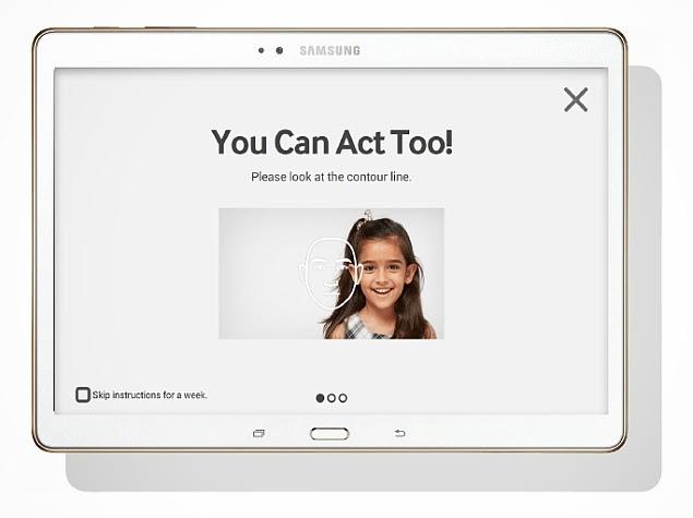 Samsung 'LOOK AT ME' App