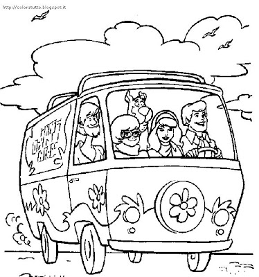 Scooby-Doo coloring page