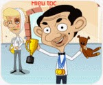 Game Mr Bean cắt tóc, chơi game cat toc online
