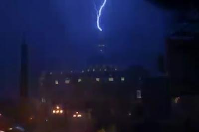 rayo cae sobre el vaticano luego de renuncia del papa benedicto xvi