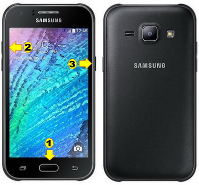Cara Reset Samsung Galaxy J1 lupa pola kunci layar