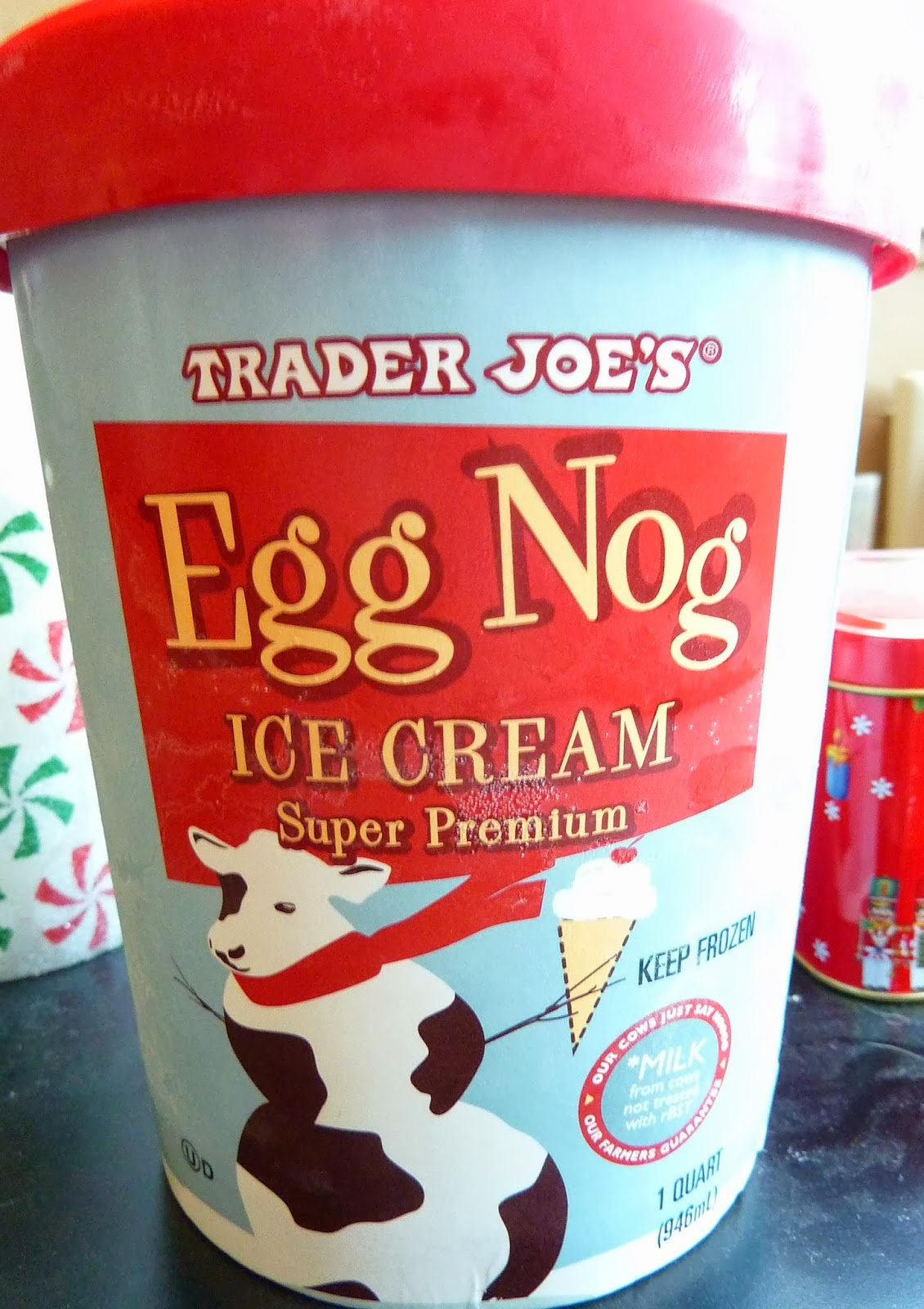 What's Good at Trader Joe's?: Trader Joe's Egg Nog Ice Cream