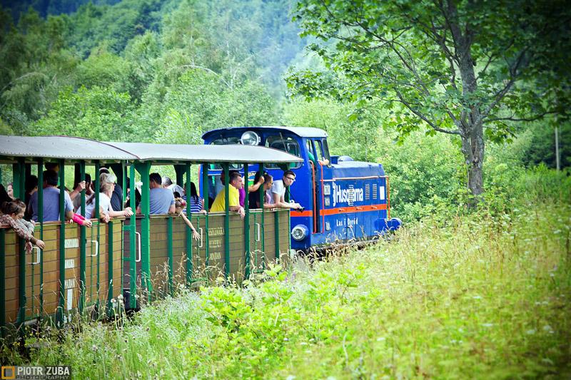 Bieszczadzka Kolejka Leśna w Cisnej-Majdanie