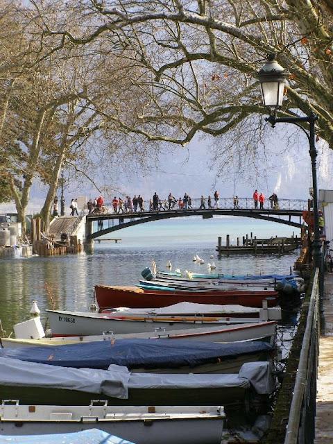 Honeymoon, trip, review, france, annecy,รีวิว,ฮันนีมูน,ฝรั่งเศส,ทะเลสาบ,Pont des Amors