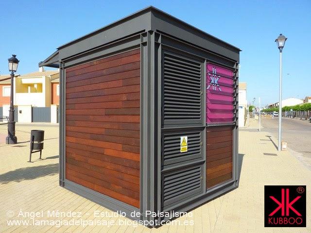 Kioscos de prensa kubboo for Kioscos prefabricados