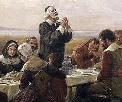 first thanksgiving prayer