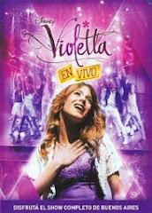Participación en nuevo DVD Violetta en vivo